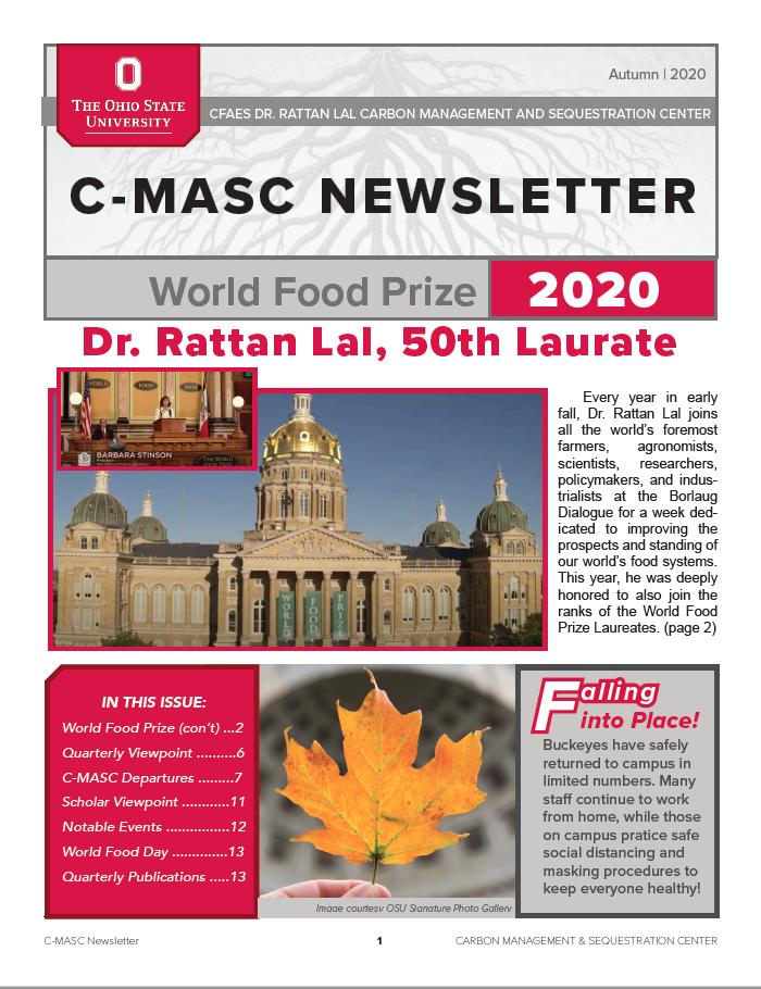 C-MASC Newsletter Cover